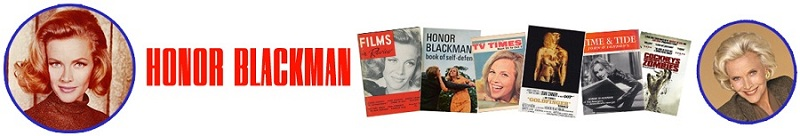 Honor Blackman Biographie