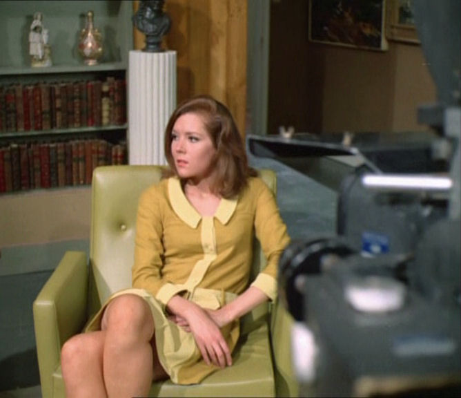 diana rigg en interview